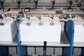 high pile paper collating machine